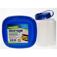 CONTAINER FOOD/BEVERAGE 2PK