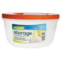 FOOD CONTAINER W/LID PLST