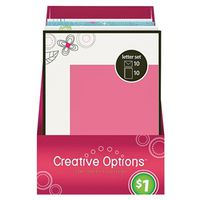 LETTER SET ASSORTED 10 PACK
