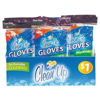 GLOVE LATEX DISPOSABLE