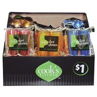 SHOT GLASS PARTY ASST 18PK/1OZ