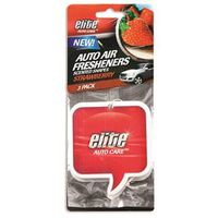 AIRFRESHNER AUTO STRWBERRY 3PK