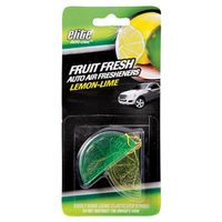 AIR FRESHENER CAR FRUIT -LEMON