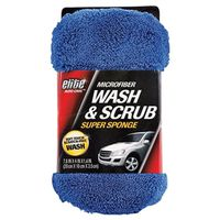Elite Auto Care 8907 Wash and Scrub Super Sponge