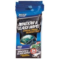 FLP 8910 Pre-Moistened Window and Glass Wipe