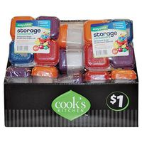 FOOD CONTAINER STOR MINI 4PK