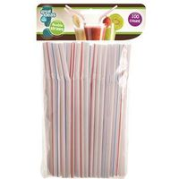 FLEXIBLE STRAWS 100CT