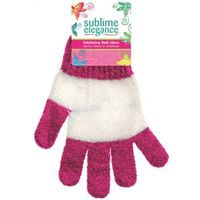 BATH GLOVES EXFOLIATING