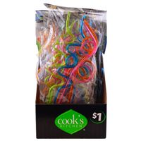 STRAWS SILLY 4CT