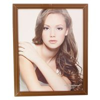 FRAME BROWN 8X10IN