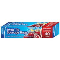 STORAGE TWIST TIE 40CT GAL