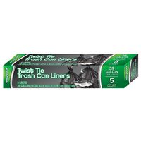 LINERS TRSH CAN TT 5CT 39G