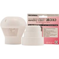 Rectroseal Magic Vent Micro Size Air Admittance Valve With Tape