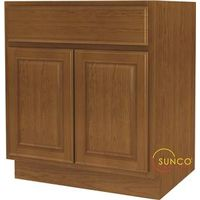 Randolph B30RT-B Double Door Wide Base Kitchen Cabinet