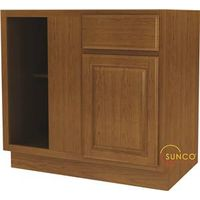 Randolph BBC42RT Wide Corner Base Kitchen Cabinet