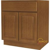 Randolph SB30RT-B Double Door Sink Base Cabinet