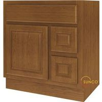 Sunco Randolph VDR3021RRT Single Door Bathroom Vanity