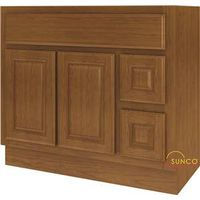 Sunco Randolph VDR3618RRT Double Door Bathroom Vanity