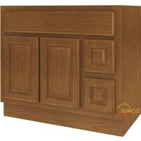 Sunco Randolph VDR3621RRT Double Door Bathroom Vanity