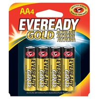 Eveready Gold A91BP-4 Alkaline Battery
