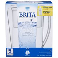 Brita 635669 Slim Water Filter Pitcher