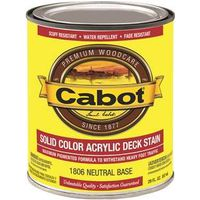 Cabot 1806 Solid Color Decking Stain