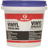 Red Devil 00124CA Pre-Mixed Spackling Compound