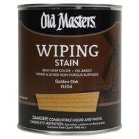 Old Masters 11204 Oil Based Wiping Stain