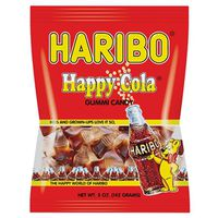 Haribo Happy Cola Bottle Shape Jelly Candy