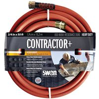 HOSE CONTRCTR GRD GRY 3/4X50FT