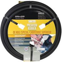 HOSE BLACK RUBBER 5/8INX25FT