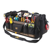 CLC Tool Works 1579 Open Top Softsided Tool Bag