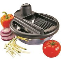 Robinson 57077 Mandolin Slicer With Stainless Steel Bowl Set