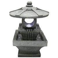 KYOTO FOUNTAIN LED LANTERN