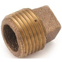 Anderson Metal 738109-16 Brass Pipe Plug Cored