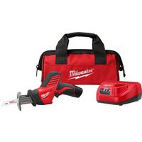 Hackzall M12 2420-21 Straight Cordless Reciprocating Saw Kit