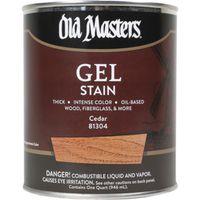 Old Masters 81304 Oil Based Gel Stain