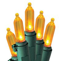 LIGHT SET LED ORANGE STS 50 L