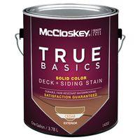 Mccloskey 14202 True Basics Exterior Acrylic Stain