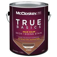 Mccloskey 14204 True Basics Exterior Acrylic Stain