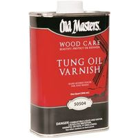 Old Masters 50504 Tung Oil Varnish