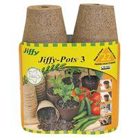 Jiffy JP322 Round Peat Pot