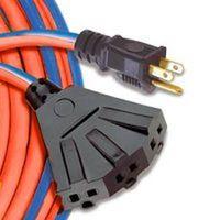 Coleman 545641 SJTW Weatherproof Extension Cord