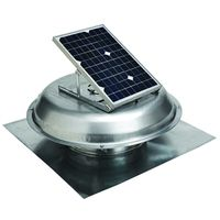 GAF Master Flow PRSOLAR Solar Powered Roof Ventilator