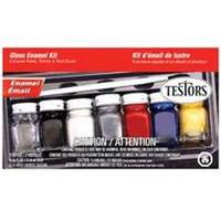 PAINT HOBBY GLOSS ENML 6PC SET
