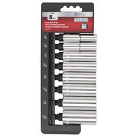 SOCKET SET 8PC 3/8 DRIVE DEEP
