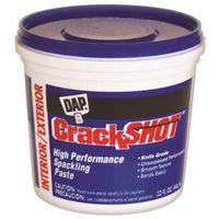 DAP CrackShot Ready-to-Use Spackling Compound