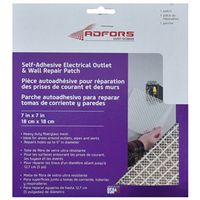 Adfors FibaTape Quadra-Mesh Electrical Outlet Patch