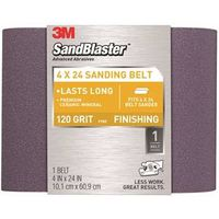 Sandblaster 9612 Resin Bond Power Sanding Belt