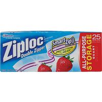 SC Johnson 00330 Ziploc Food Storage Bags